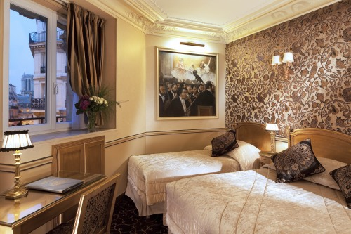 Hotel Saint-Jacques - Quarto Triplo