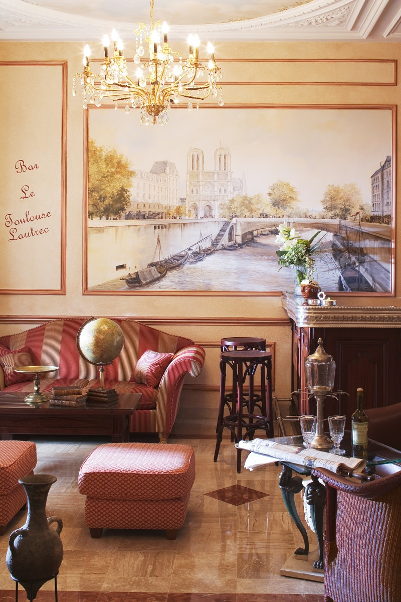 H tel saint jacques paris salon et bar h tel notre - Salon saint jacques neuville saint remy ...